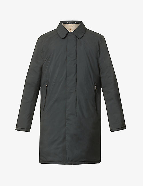 PAUL SMITH: Shell-down mackintosh coat