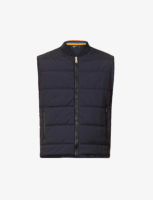 PAUL SMITH: Padded shell gilet