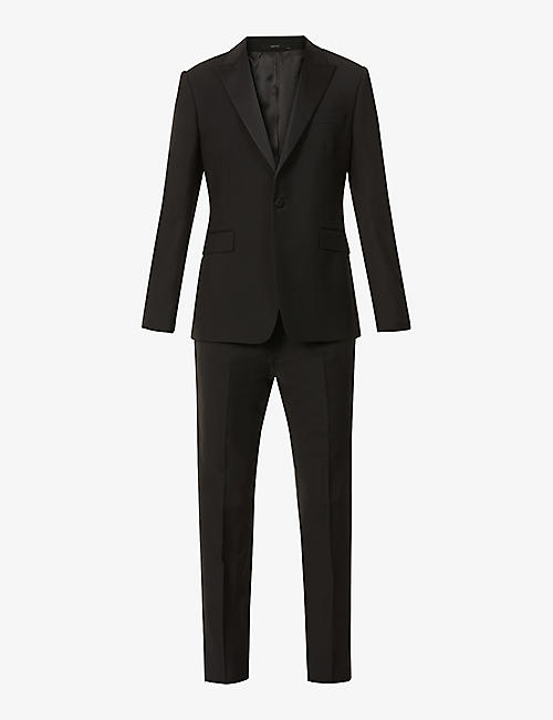 PAUL SMITH: Slim-fit wool and mohair-blend tuxedo