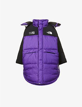 MM6 MAISON MARGIELA: MM6 Maison Margiela x The North Face Circle shell-down puffer coat