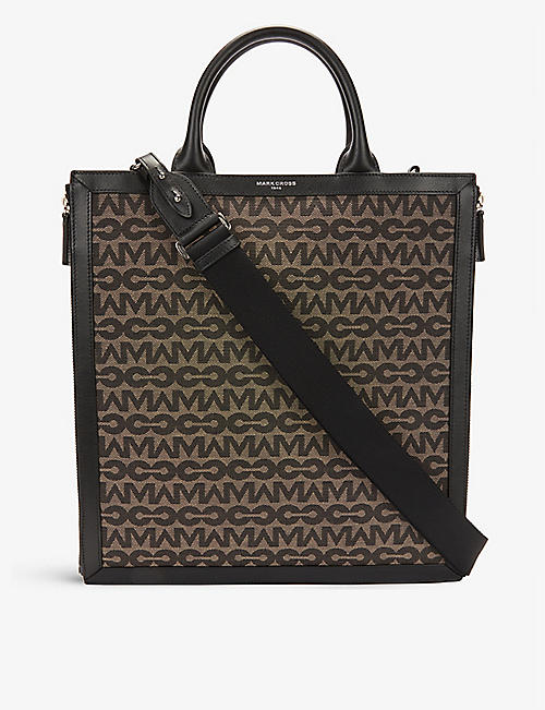 MARK CROSS: Sidney recycled polyester and cotton-blend tote