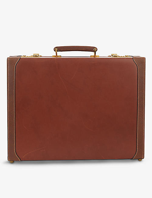 MARK CROSS: Vintage leather briefcase