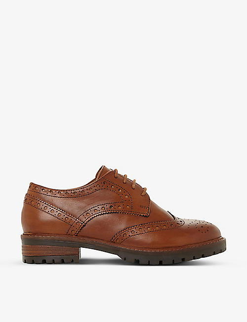 DUNE: Fearce leather brogues
