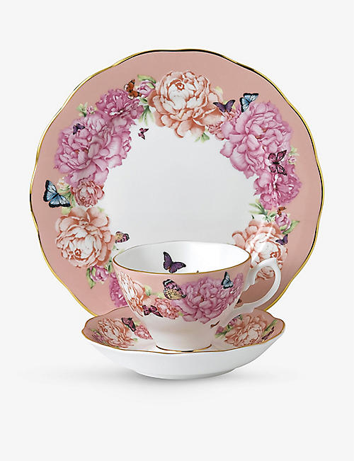 ROYAL ALBERT: Miranda Kerr Friendship three-piece fine bone-china set
