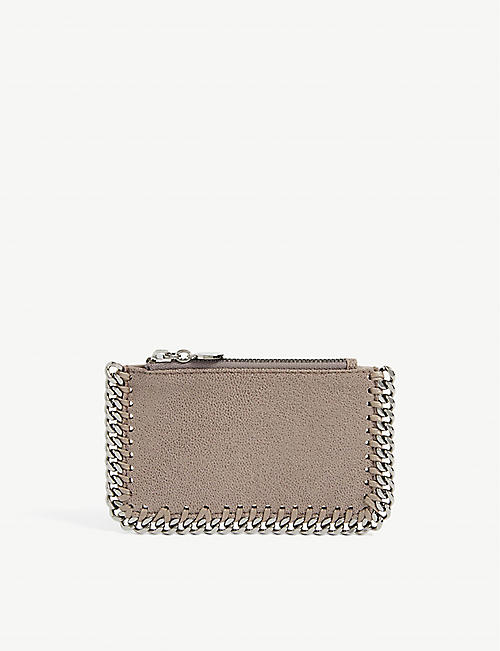 STELLA MCCARTNEY: Falabella faux-leather card holder