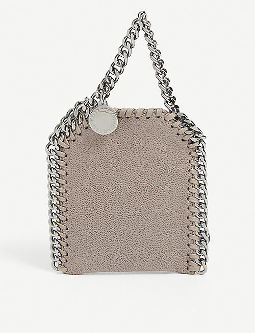 STELLA MCCARTNEY: Mini Falabella faux-leather pouch