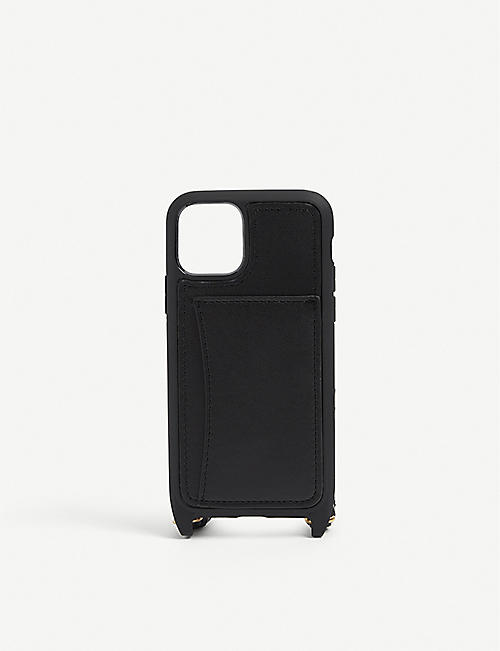 STELLA MCCARTNEY: Logo-strap iPhone 11 Pro case