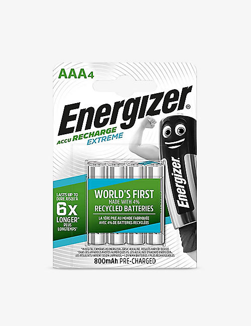ENERGIZER: Energizer Battery 4AAA 700mAh rechargeable batteries