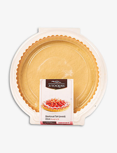 CHRISTMAS: Les 3 Toques six sweet shortcrust pastry tartlets 144g