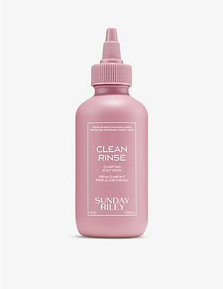 SUNDAY RILEY: Clean Rinse clarifying scalp serum 120ml