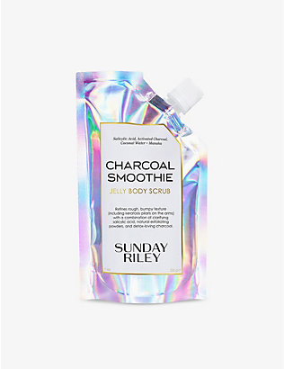 SUNDAY RILEY: Charcoal Smoothie Jelly body scrub 200g