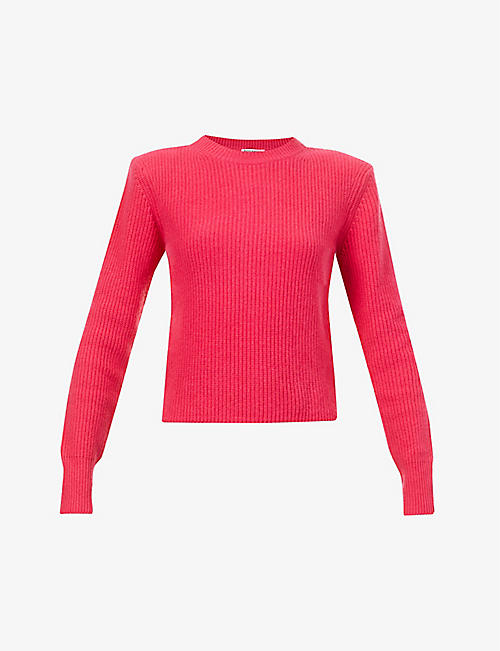 REFORMATION: Cesina ribbed recycled-cashmere jumper