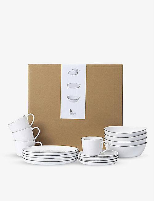 BROSTE: Nordic Salt ceramic tableware set