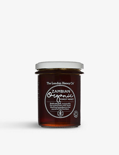 THE LONDON HONEY COMPANY: Organic Zambian honey 250g