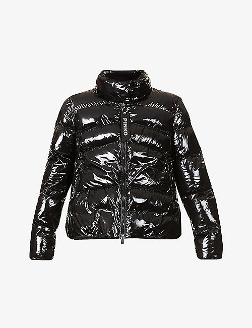 PINKO: Mirco Kaban quilted-down shell jacket