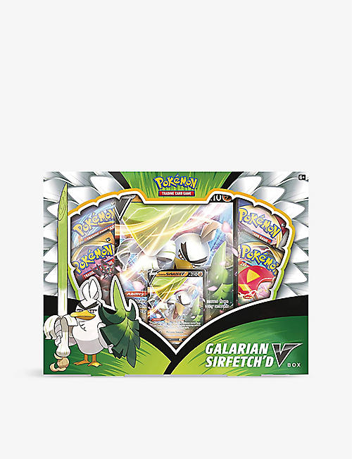POKEMON: Galarian Sirfetch'd V collection box