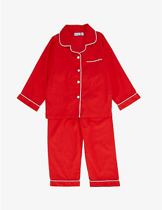 MINI LUNN: Christmas cotton pyjamas 2-11 years