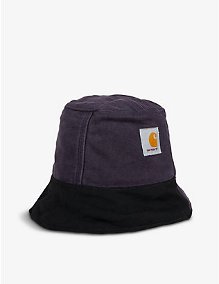 CARHARTT WIP: Delly Deacon logo-print cotton bucket hat