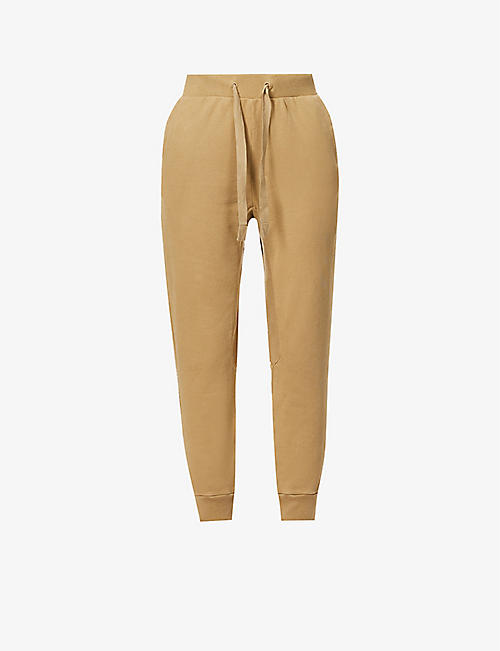 FRAME: Easy organic cotton-jersey jogging bottoms