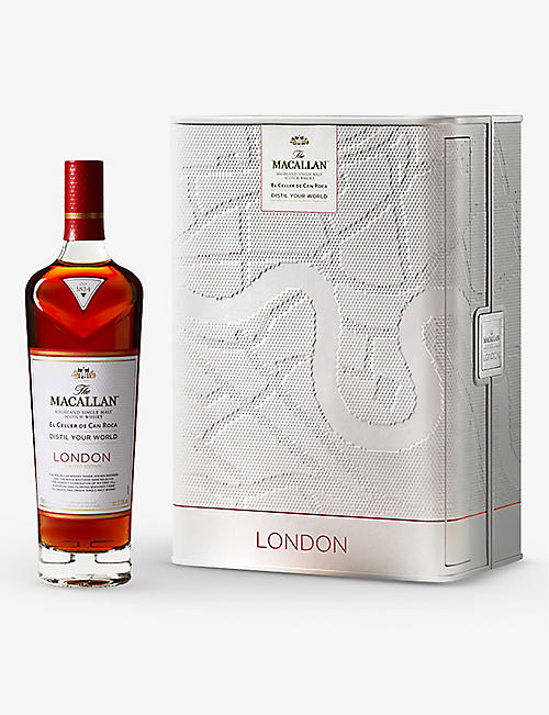 MACALLAN: The Macallan London single malt Scotch whisky 700ml