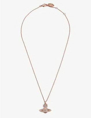 VIVIENNE WESTWOOD JEWELLERY: Bas Relief Orb mini necklace