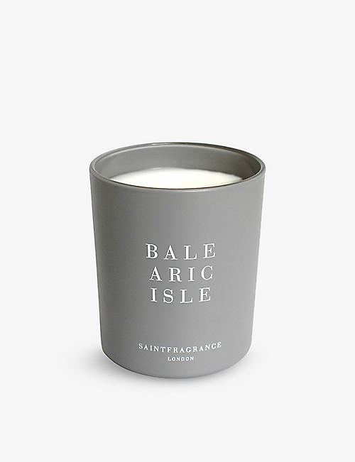 SAINT FRAGRANCE LONDON: Balearic Isle scented candle 200g