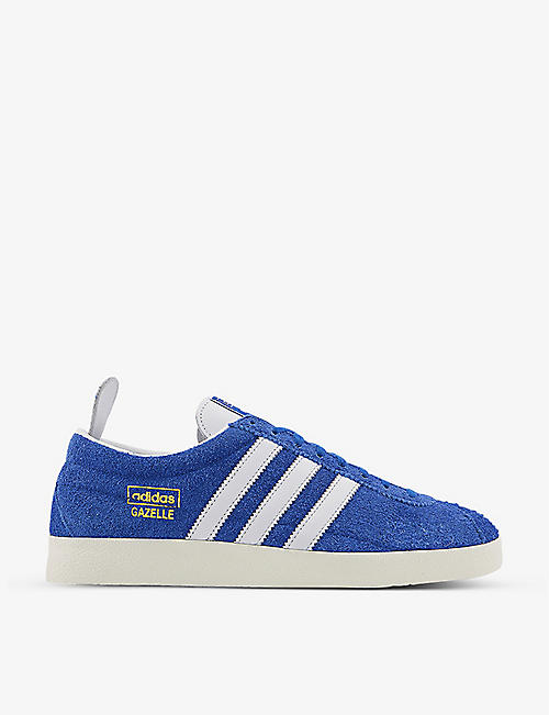 ADIDAS: Gazelle Vintage suede low-top trainers
