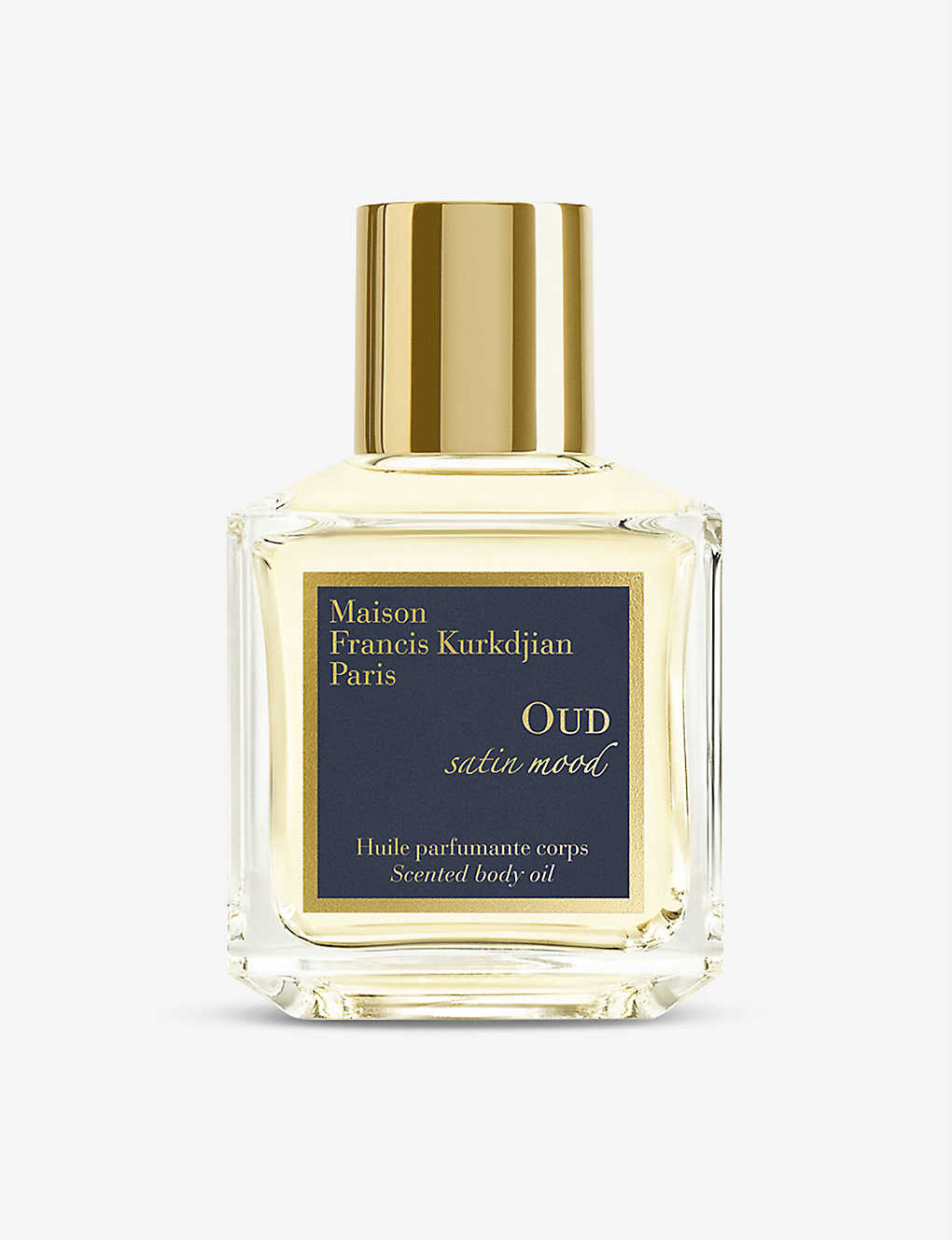 MAISON FRANCIS KURKDJIAN: OUD Satin Mood body oil 70ml
