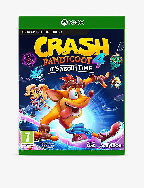 MICROSOFT: Crash Bandicoot 4 It's About Time Xbox game