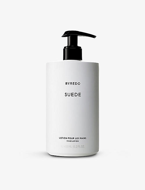 BYREDO: Suede hand lotion 450ml