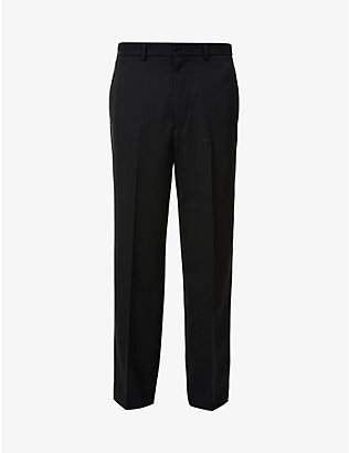 GUCCI: Regular-fit straight wool trousers