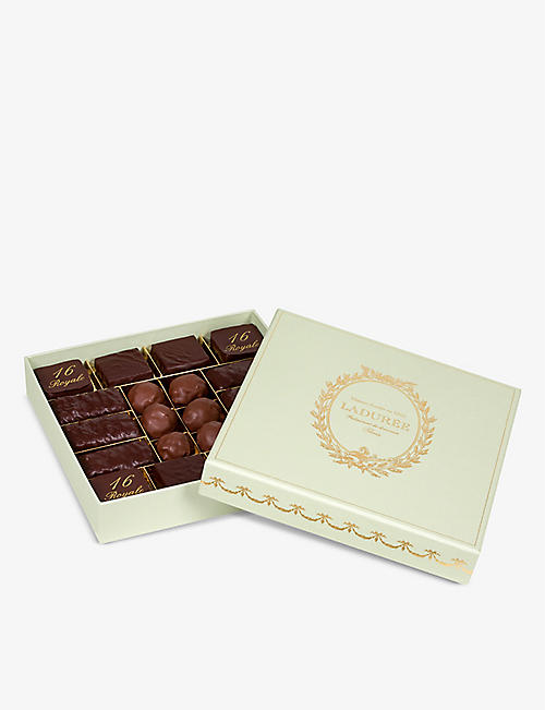 LADUREE: Initiation chocolate gift box of 198g