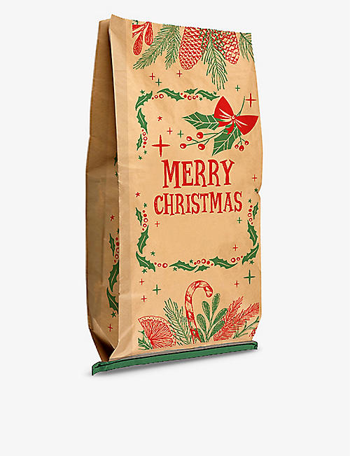 THIE WORKSHOP: Christmas Foliage Personalised Paper Sack