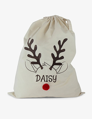 THIE WORKSHOP Reindeer organic cotton sack