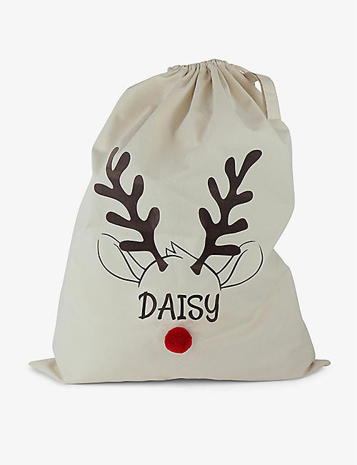 THIE WORKSHOP: Reindeer organic cotton sack