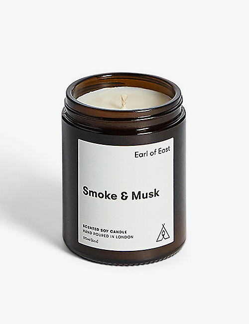 EARL OF EAST: Smoke & Musk scented candle 170ml