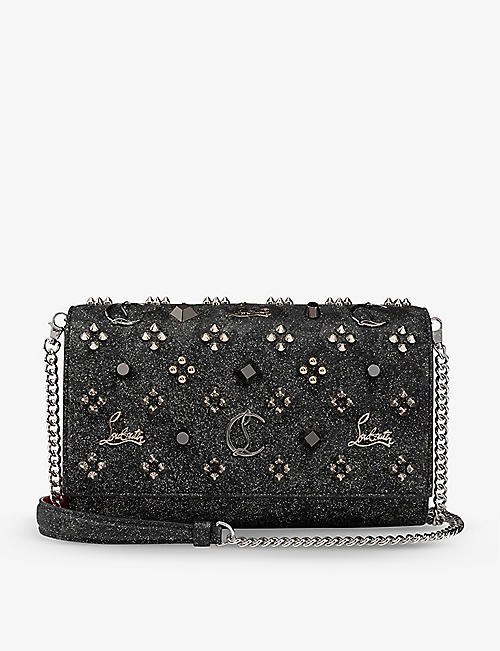 CHRISTIAN LOUBOUTIN: Paloma leather shoulder bag