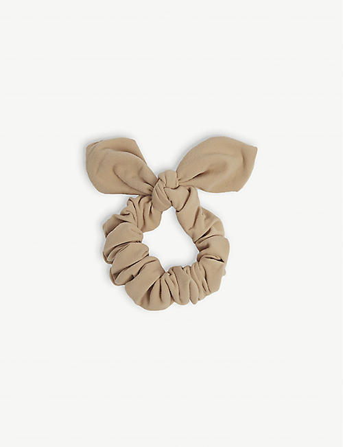 WEWOREWHAT: Onia bow nylon-blend scrunchie