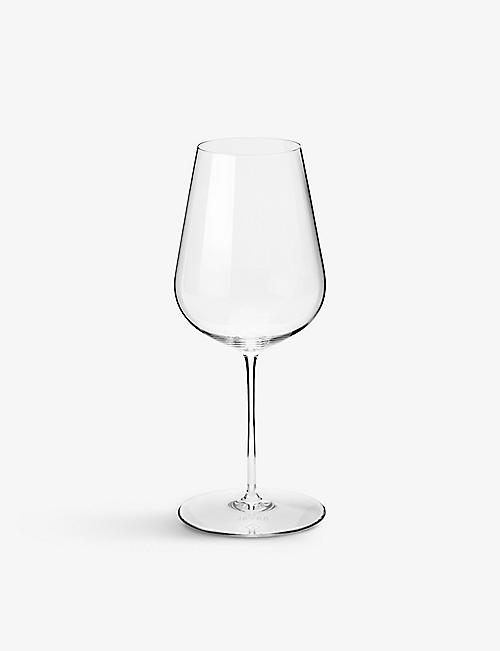 RICHARD BRENDON: Jancis Robinson crystal wine glasses set of six