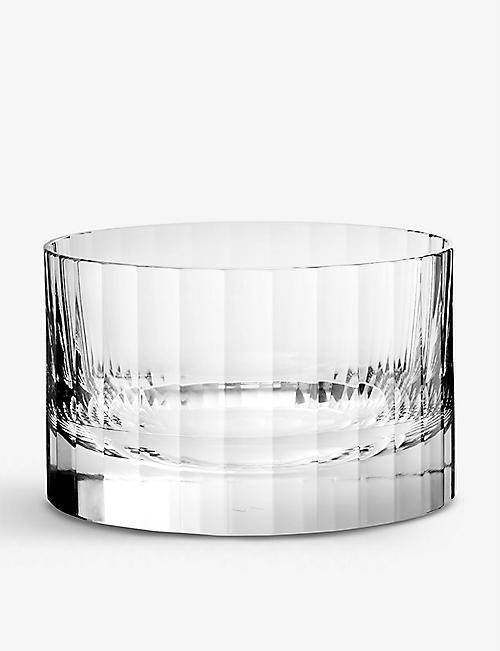 RICHARD BRENDON: Fluted crystal ice bucket 12.6cm