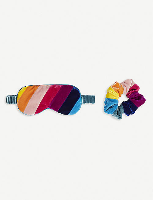 KURT GEIGER LONDON: Rainbow satin sleep set