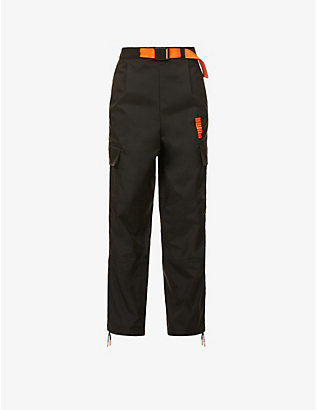 PUMA: Puma x Central Saint Martins shell trousers