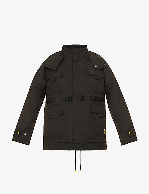 PUMA: Puma x Central Saint Martins woven shell jacket