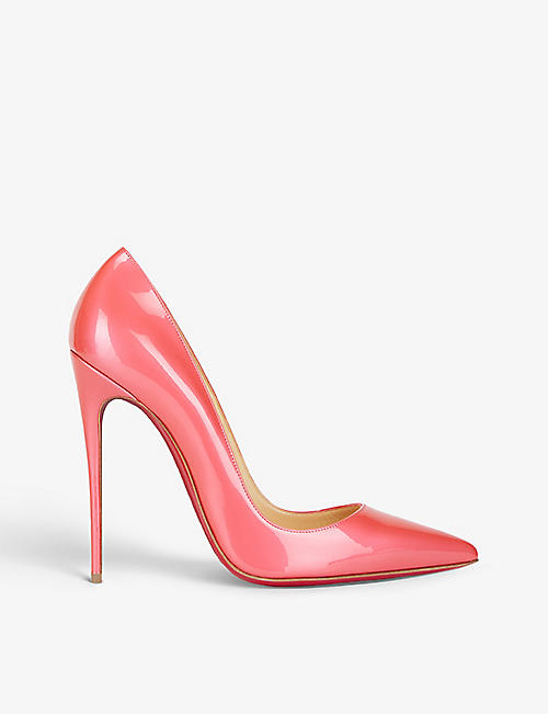 CHRISTIAN LOUBOUTIN: So Kate 120 patent fluo metal floride