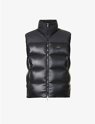 RALPH LAUREN RLX: Two-tone padded shell-down gilet