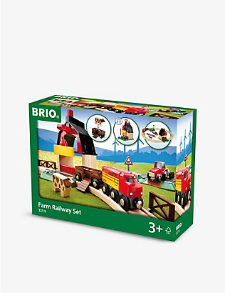BRIO: Farm Railway Set