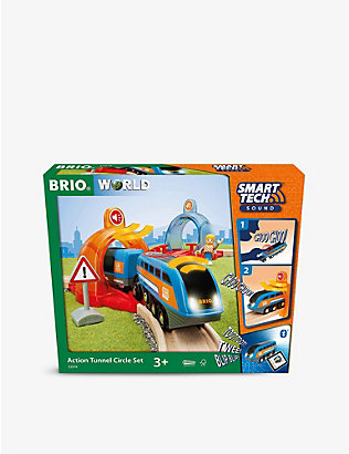 BRIO: Smart Tech Action Tunnel Circle Set