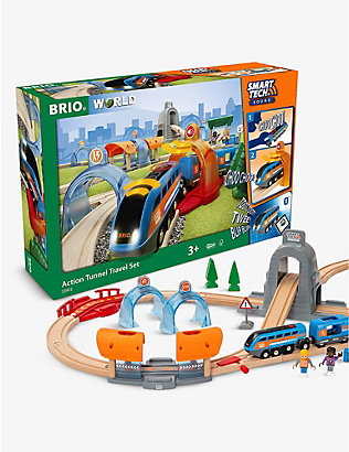 BRIO: Smart Tech Tunnel Travel Set