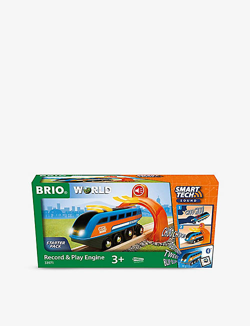 BRIO: Smart Tech Record & Play Engine