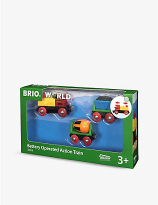 BRIO: Action battery-operated train toy